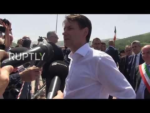 Italy: PM Conte thanks Madrid for taking in Aquarius' migrants