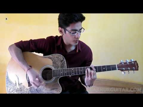 Aadat Guitar Chords Lesson | Strumming Pattern - Learn Ur Guitar