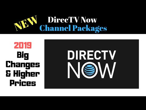 DirecTV Now Channel Packages Review - Great Options but is