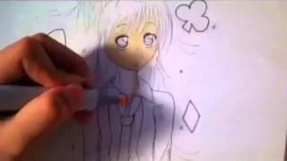 Drawing Hinamori Amu (Shugo Chara) TimeLapse