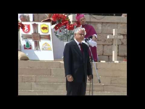 Przemówienie Prezydenta Lecha Kaczyńskiego na Monte Cassino