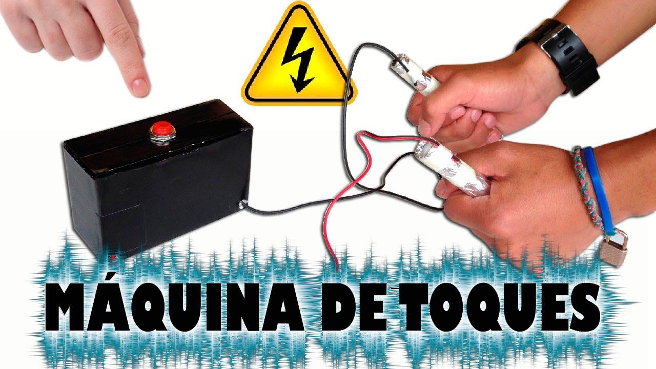 Construye Tu Propia Maquina De Toques Electricos Casera Youtube