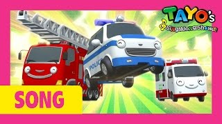 The Brave Cars l Tayo's Sing Along Show 1 l Tayo the Little Bus
