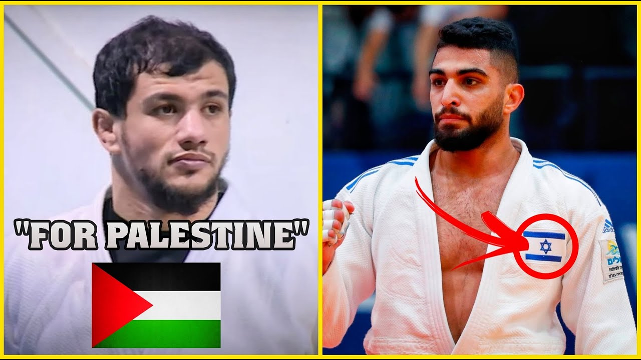 MUSLIM PLAYER REMOVED FROM OLYMPICS OVER ISRAELI