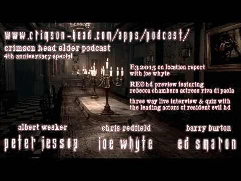 Resident Evil Podcast Peter Jessop Joe Whyte & Ed Smaron