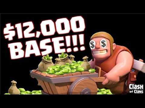 Clash of Clans - $12,000 Base - Gemmed to MAX!