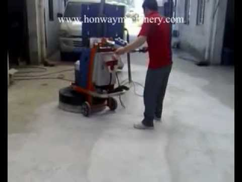 Concrete Floor Grinder and Polisher HWG 59/60/70/78
