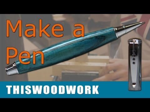turning-a-pen-on-the-lathe