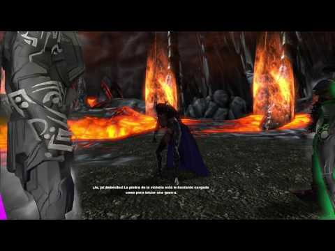 Dc Universe Online -Trigun y Circe vs Superheroes
