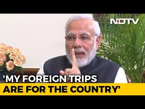 What PM Modi Said On His Multiple Foreign Visits