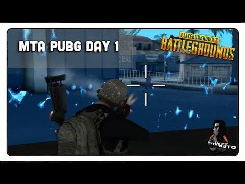 [MTA:PUBG] Day 1 - Bắn Chết Đồng Đội , Bị Knock Tỉ Lần