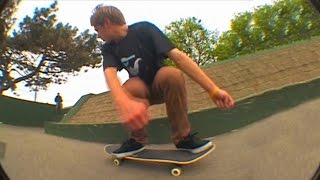 Cross Country Skateboarding (Switch 540 Bigspin!)