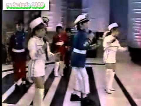 A Nova Turma do Balo Magico no Programa Hebe 1989  Rede.tudo89