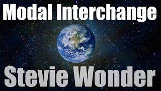 Modal Interchange/Modulation examples  of Stevie Wonder Tutorial part 1