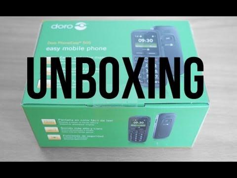 Doro 505 PhoneEasy Unboxing