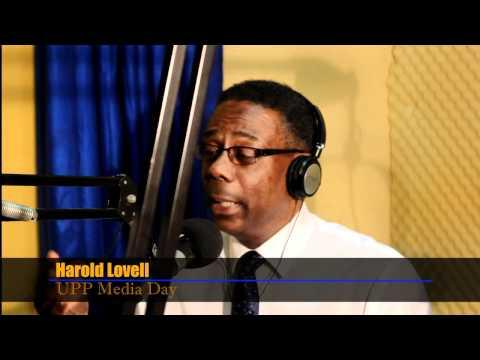 Harold Lovell UPP Media Day