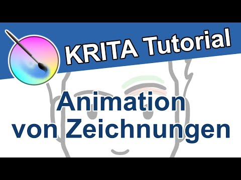 Krita Tutorial Animation - Zeichnungen Animieren & Video Speichern | Kostenlose Animationssoftware