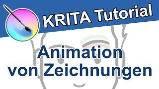 Krita Tutorial Animation - Zeichnungen animieren | Kostenlose Animationssoftware