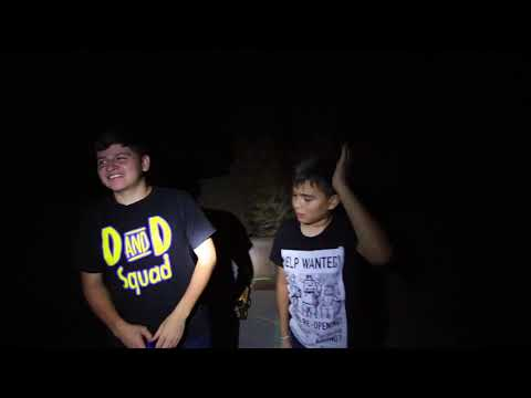 HIDE and SEEK at NIGHT in our BACKYARD | SCARY DARK
