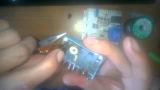 видео Ремонт стиральных машин Candy GOY 1050D -  не блокируется люк