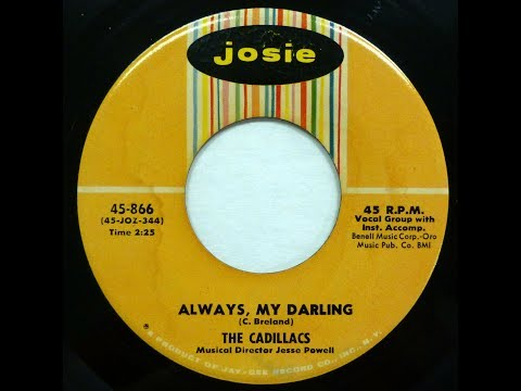 The Cadillacs - Always, My Darling 1959 Mp3