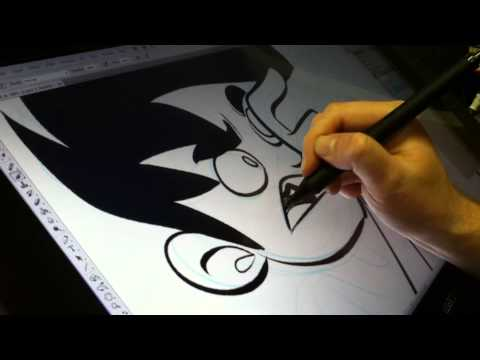 Drawing Penny Arcade 3/1/13