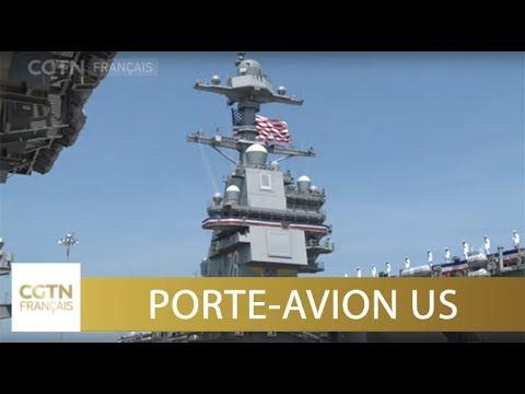 Le nouveau porte avion am ricain gerald r ford entre en service youtube - Nouveau porte avion francais ...
