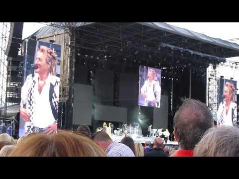 Rod Stewart live, durham cricket club 09/06/17