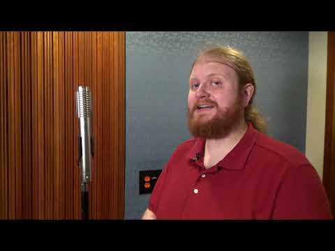 How to use the Royer R122 Microphone - American University ATEC Instructional Video