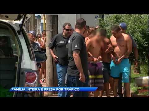 Família inteira é presa por tráfico de drogas em São Paulo