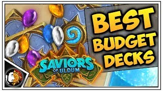 Hearthstone: Top 5 Best Budget Decks To Craft - Saviors Of Uldum