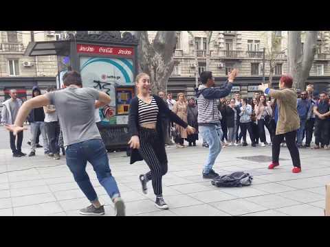 Tbilisi 14.04.2019 Танцы в центре Тбилиси
