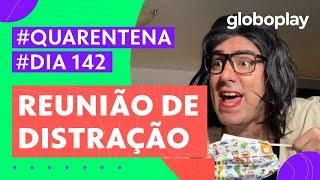 Marcelo Adnet imita Bolsonaro em nova reunião ministerial | Sinta-se em Casa | Globoplay
