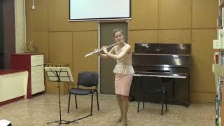 И.-С.Бах - Сарабанда и Буррэ из партиты для флейты соло ля-минор BWV1013 - С.Вахнина