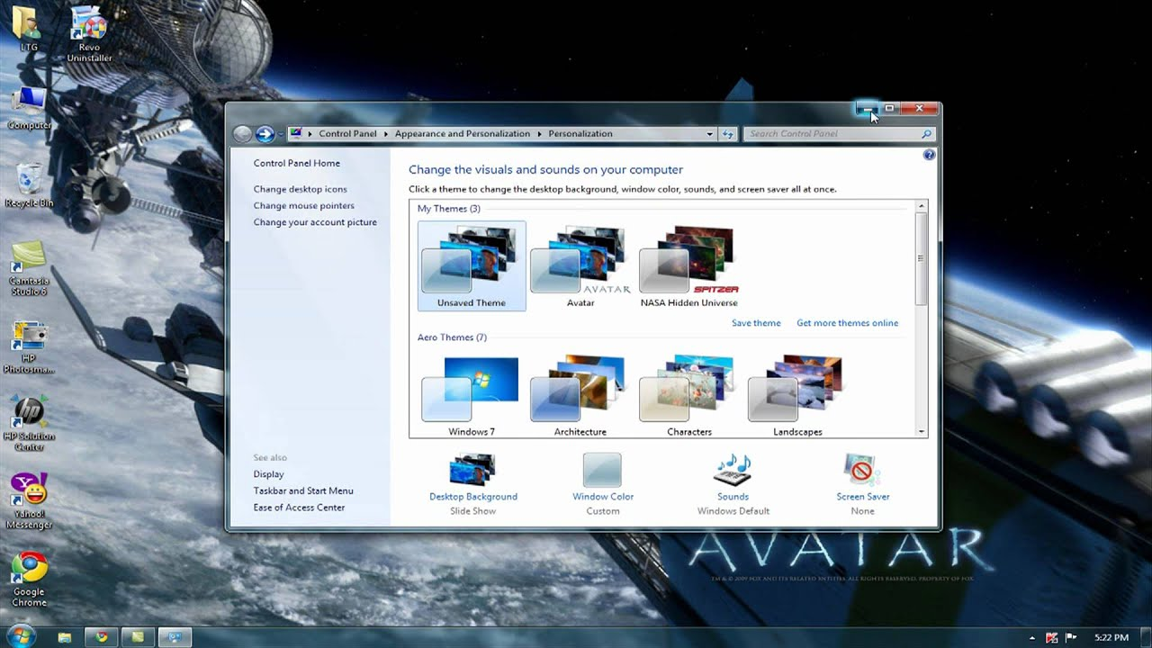free avatar theme from microsoft com for windows 7