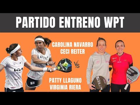 Carolina Navarro y Ceci Reiter VS Patty Llaguno y Virginia Riera. Partido Entrenamiento 2021.