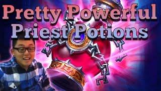 [Hearthstone] Pretty Powerful Priest Potions (Priest vs Priest)