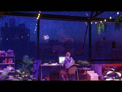 Rain Sounds & Lofi Music 🌧 Relaxing Lofi Sleep & Study Music 🌧 24/7 Lofi Radio