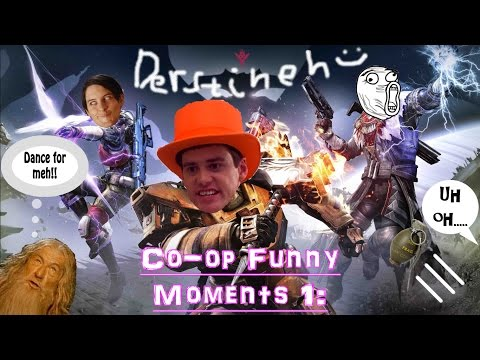 Destiny Coop funny moments 1: The 3 Idiots, You shall not pass, Grenade Suicide, The Warmind