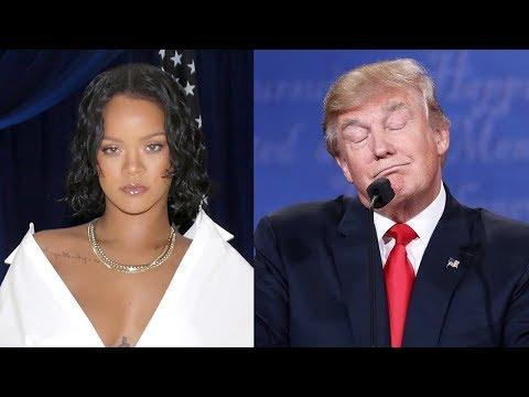 Rihanna CALLS OUT Trump Over Puerto Rico Response