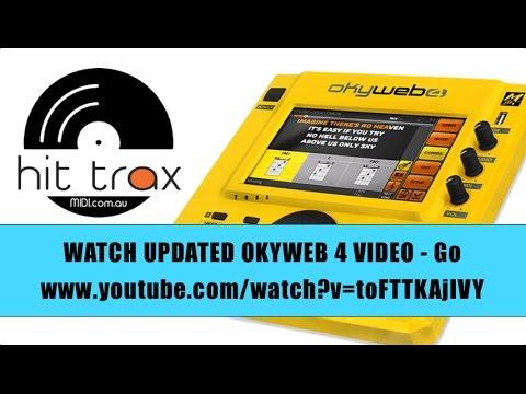 Okyweb 4 MIDI File & Mp3 Backing Track Player