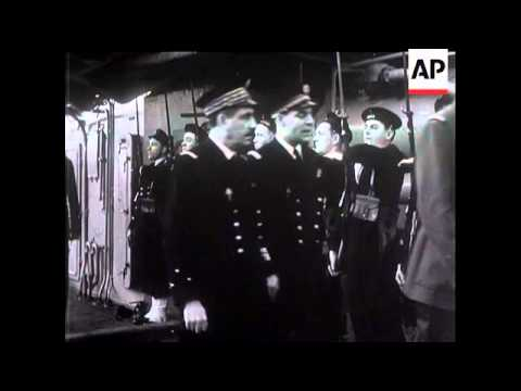 General de Gaulle With Free French Navy