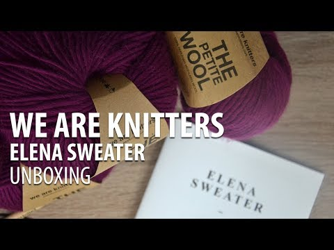 WAK Unboxing - ELENA SWEATER - We Are Knitters PL