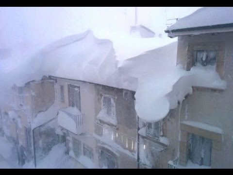 Europe Freezes: Snow on Greek & Italian Beaches, S.E. USA Snow Covered (285)