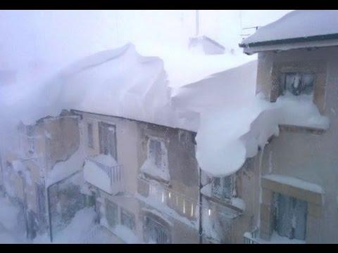 Europe Freezes: Snow on Greek & Italian Beaches, S.E. USA Snow Covered (286)