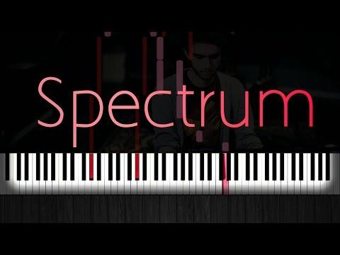 How to Play Zedd- Spectrum (Acoustic Piano Tutorial)