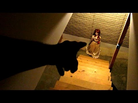 CRAZY HAUNTED BASEMENT!!