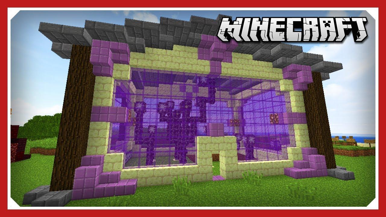 Minecraft E143 Chorus Fruit Farm 1 13 1 Vanilla Data Pack Survival Single Player Youtube