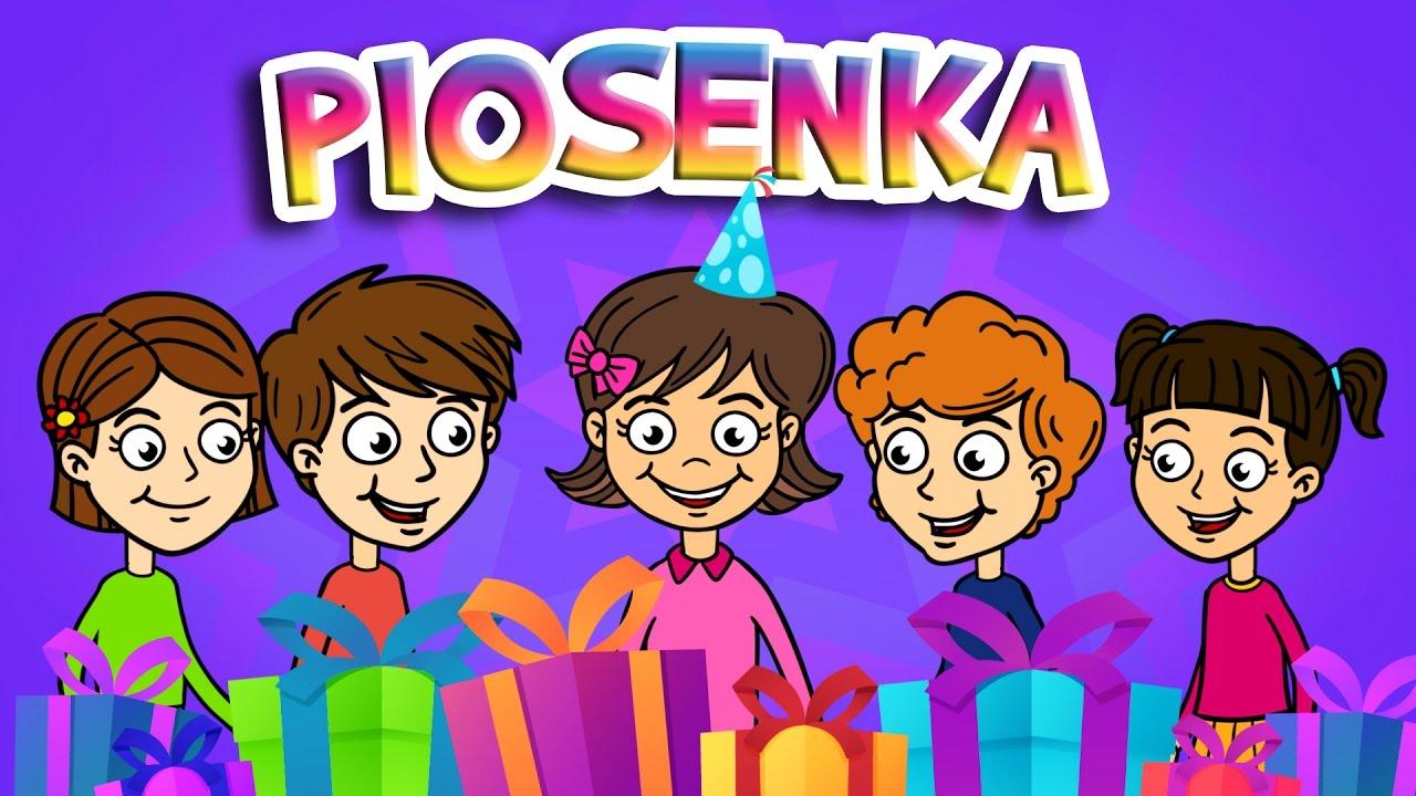 Urodzinowa Piosenka Dla Dzieci Sto Lat