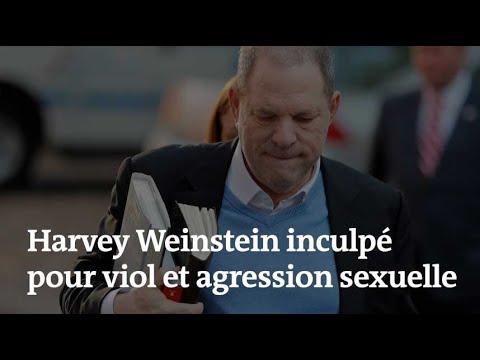 🔴 Harvey Weinstein, inculpé pour viol, sort menotté d'un commissariat
